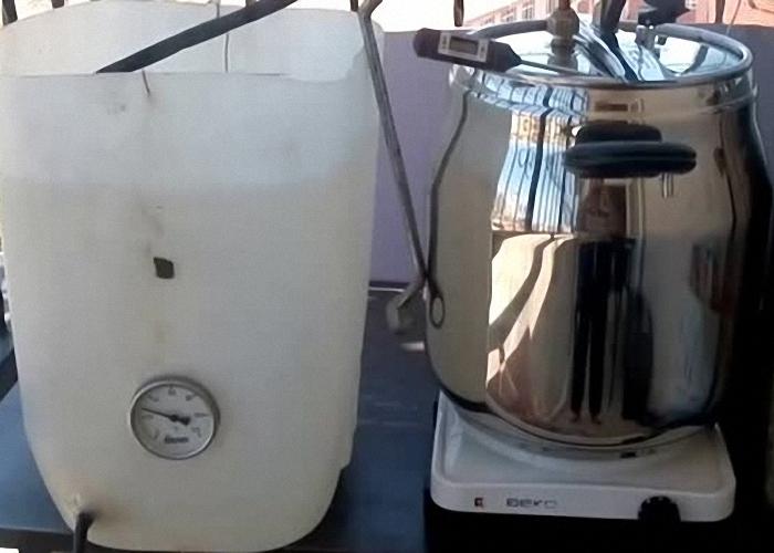 Дистиллятор для перегонки браги