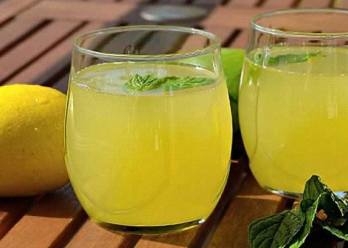 Сок лимона помогает бросить пить
