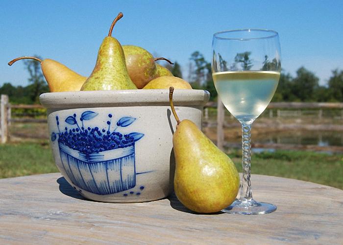 Грушевое вино с яблоками