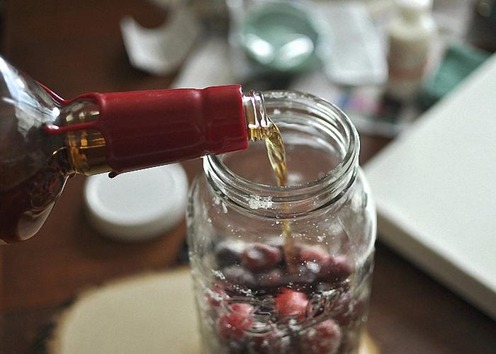 ликер вишня на коньяке рецепт