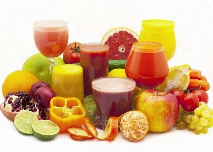 Подготовить любые фруктовые соки