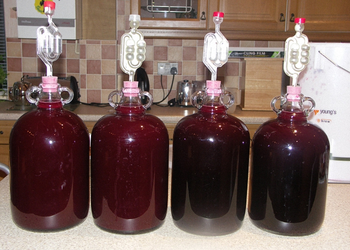 Сливово вишневое вино