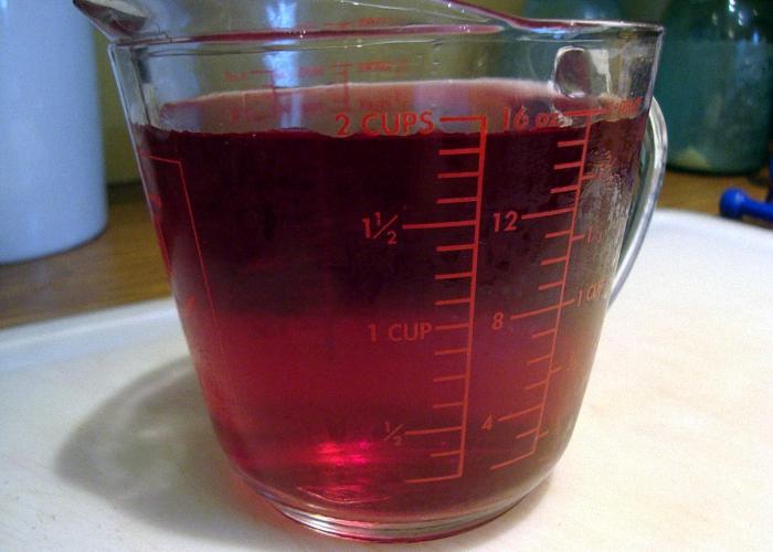 Вино слить с осадка и процедить