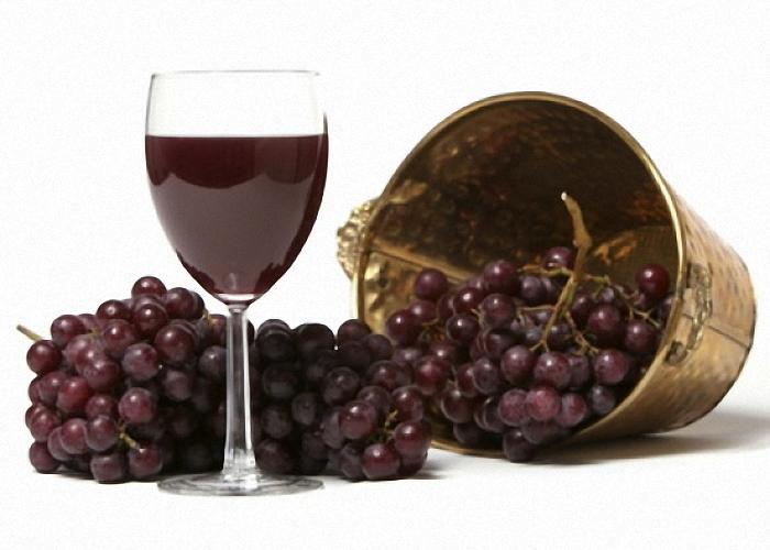 Домашнее вино из винограда Лидия