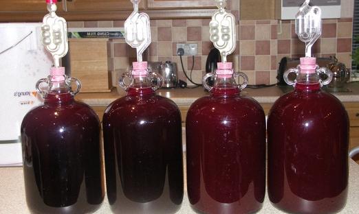 Домашнее вино из замороженной вишни