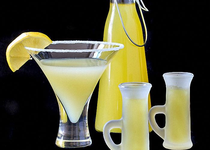 самогон рецепты лимонная водка