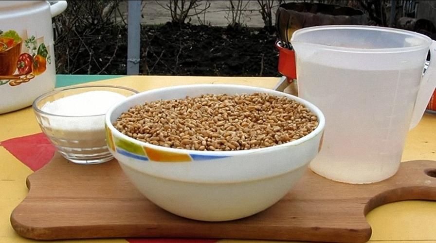 рецепт домашней водки с пшеницы