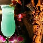 Коктейли Гавайский микс и Мартини микс