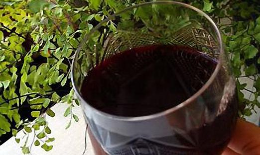 Крепленое рябиновое вино с добавлением корицы