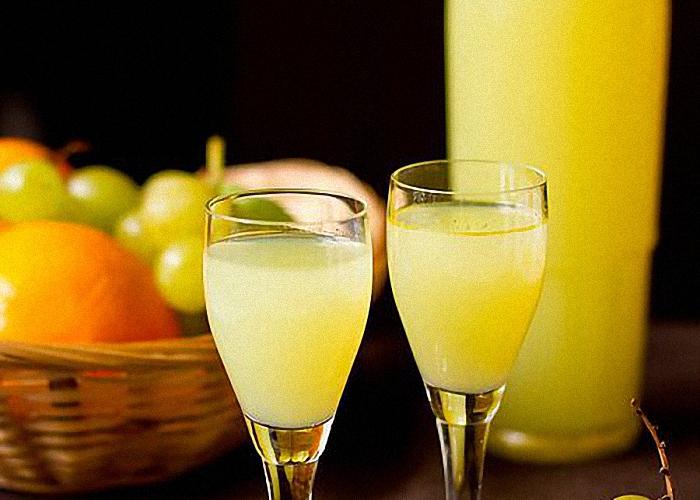 лимонный ликер на водке домашний рецепт