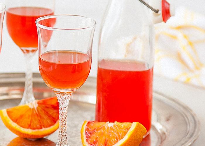Настойка на спирту с сиропом