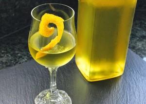 Настойка водки на лимоне
