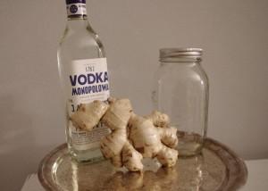 Как сделать водку с имбирем