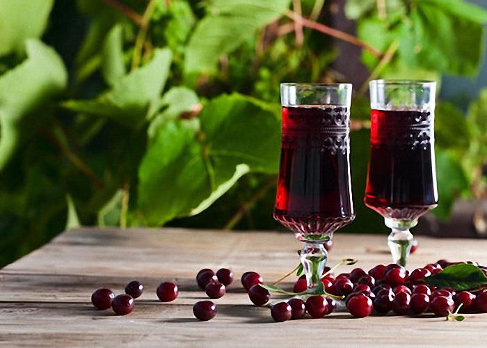 Настойка на вишне с водкой рецепт