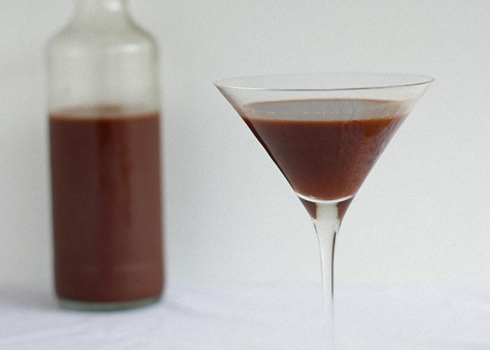 Шоколадный ликер из какао порошка