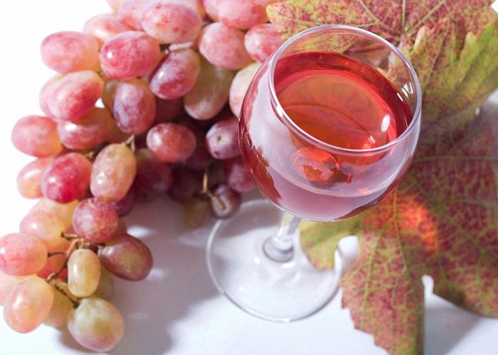 Вино из розового винограда
