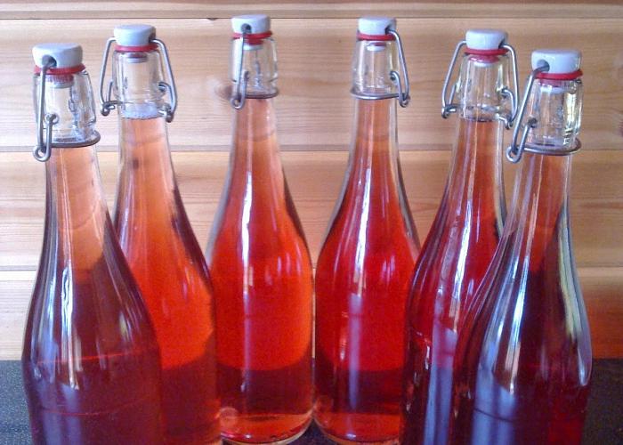 Вино из сока малины и других ягод