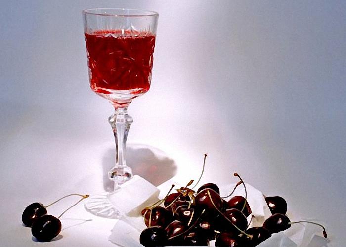 Вино из вишни и черешни