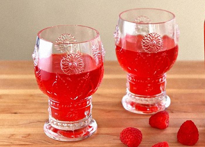 Вино из ягод малины