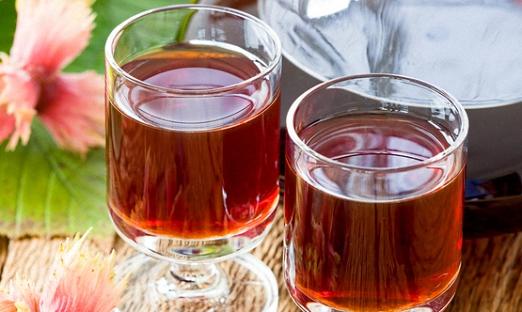 Вишнево смородиновое вино с апельсиновым соком