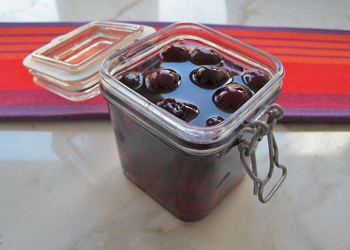 вишневая настойка на водке рецепт приготовления