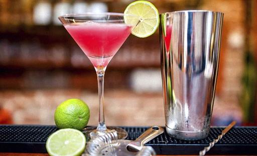 как приготовить коктейль космополитан