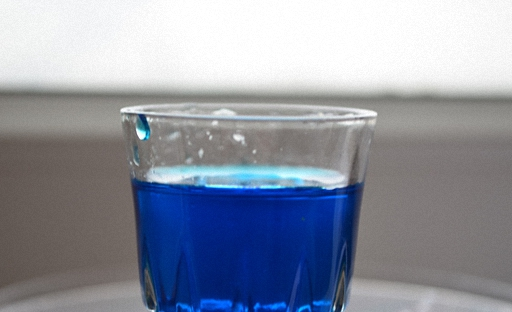 Коктейль Боярский синий