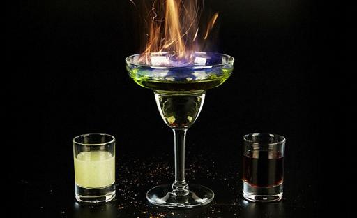 коктейли с абсентом самбукой и соком рецепт видео