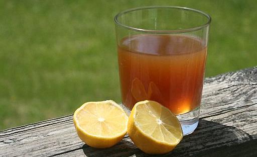 Лимонный квас пить холодным