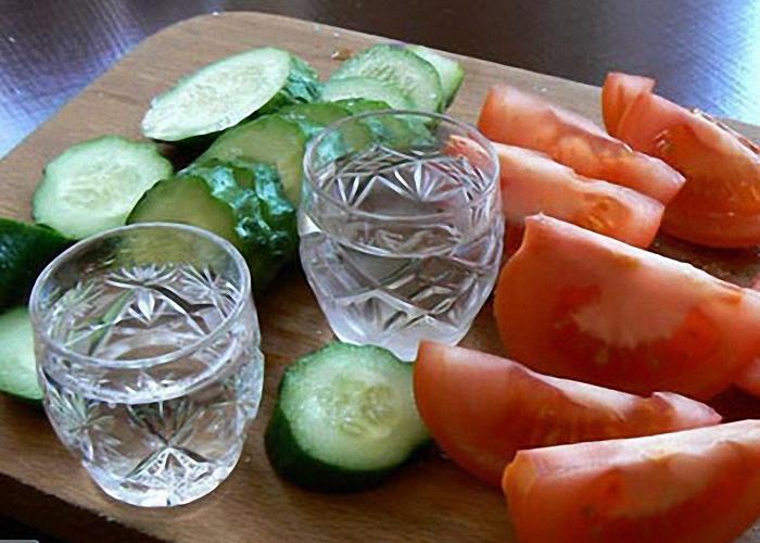 Мягкая водка из спирта
