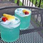 Рецепт коктейля Голубые Гавайи