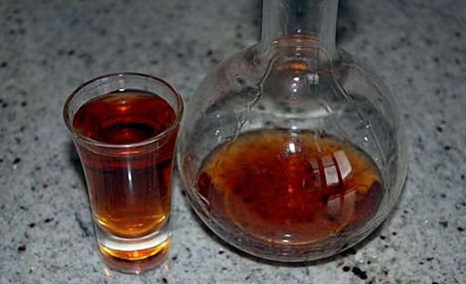 Маньчжурский орех настойка с медом 179