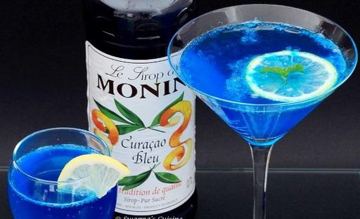 безалкогольные коктейли рецепты с blue curacao