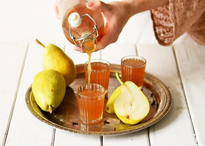 Лимонад из груши в домашних условиях